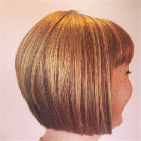 the difference between an a line graduated bob inverted a line graduated bob hairstyles back view