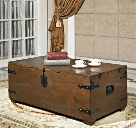 living in a box room in your american retro coffee table made of wood box creative wrought iron tables living room
