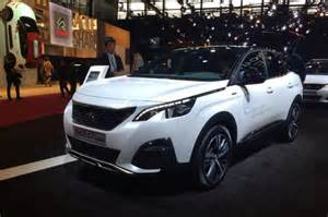 Peugeot 3008 White 2017 Peugeot 3008 Gt Redesign Release And Changes