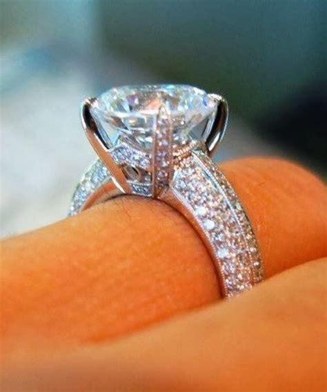 Adorable Gorgeous Diamond En Ement Ring Bling