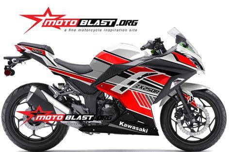 Striping Lis Stiker Astrea Grand 13 modif striping kawasaki 250r fi white simple motoblast