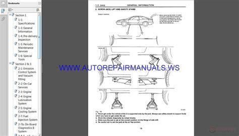 subaru svx  service manual auto repair manual