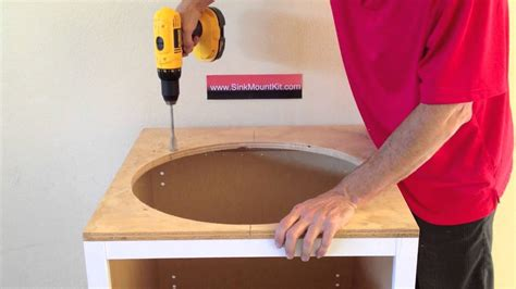 How To Attach An Undermount Sink by How To Install Undermount Sinks