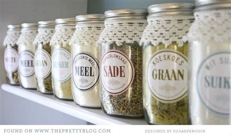 Diy Pantry Labels by 21 Top Diy Home Organization Ideas