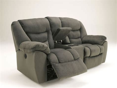 dual reclining loveseat with console microfiber celano modern pewter microfiber recliner sofa couch set