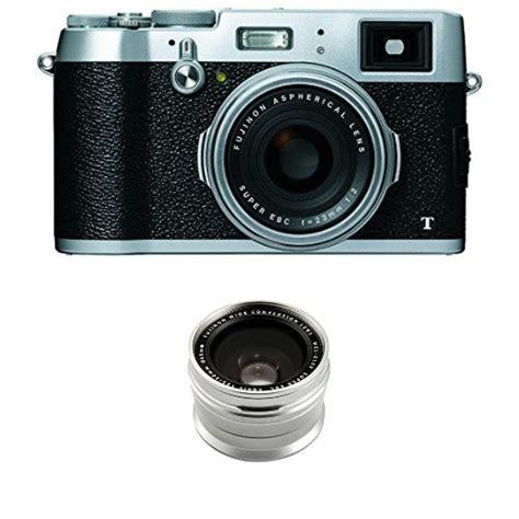 amazon fujifilm x100t 16 mp digital camera silver fujifilm x100t 16 mp digital camera wcl x100 wide