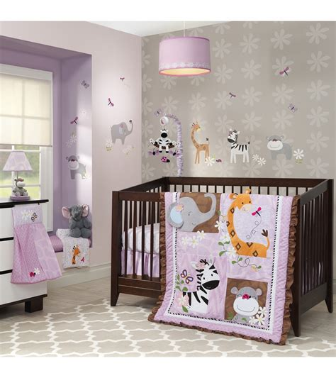 lambs and ivy bedding lambs ivy ladybug jungle 4 piece bedding set
