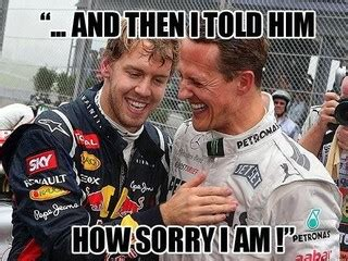 Sebastian Vettel Meme - sebastian vettel the new george bush f1 madness