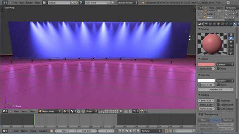 house lighting design software blender 2 6 quick tip tutorial special stage lighting