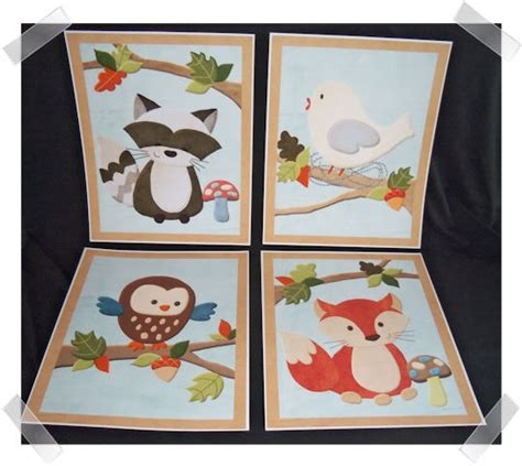 woodland creatures nursery bedding forest friends animals nursery bedding artwork art decor