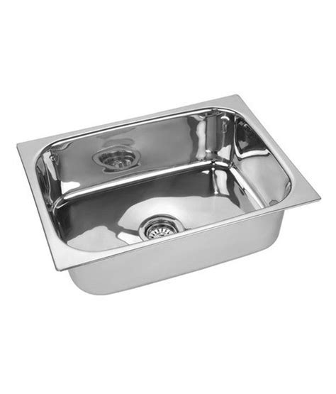 How To Buy A Stainless Steel Kitchen Sink Buy Radium Stainless Steel Kitchen Sink 24 X 18 X 9 At Low Price In India Snapdeal