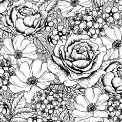 flower coloring pattern 17 best images about coloring flowers on