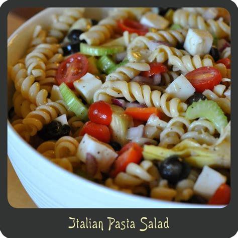 pasta salad recipes recipe italian pasta salad mis recomendaciones y