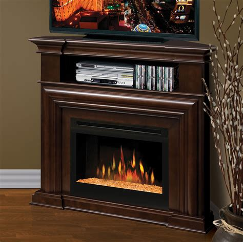 homeofficedecoration corner electric fireplace media center