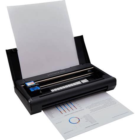 portable color printer primera trio all in one inkjet printer 31001 b h photo