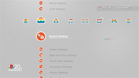ps4 themes with sound sony releases beautiful 20yearsofplay ps4 ps3 vita