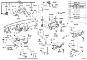 Toyota Parts Toyota Instrument Panel Glove Compartment