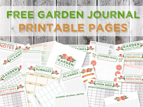 printable garden journal green in real life garden journaling and planning free