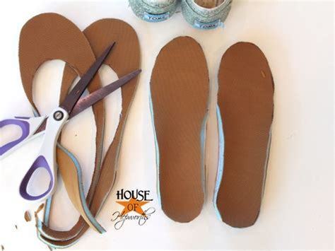 how to make house shoes how to replace toms or any shoes insoles