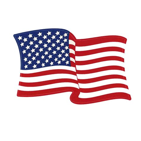 american flag left hand waving american flag decal