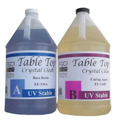 clear resin table top clear epoxy table top resin 2 gallon kit