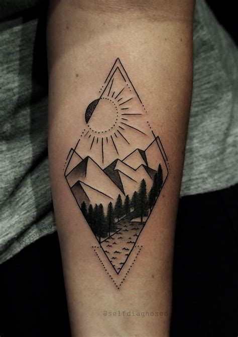 mountain tattoo designs pin by khalil 98 on tattoos mountain