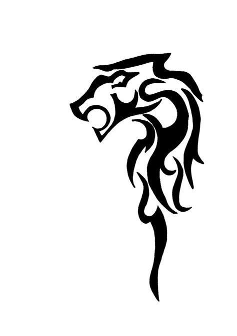 leo tribal tattoo tattoos designs ideas and meaning tattoos for you
