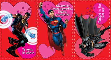 dc valentines day dc cards in s day