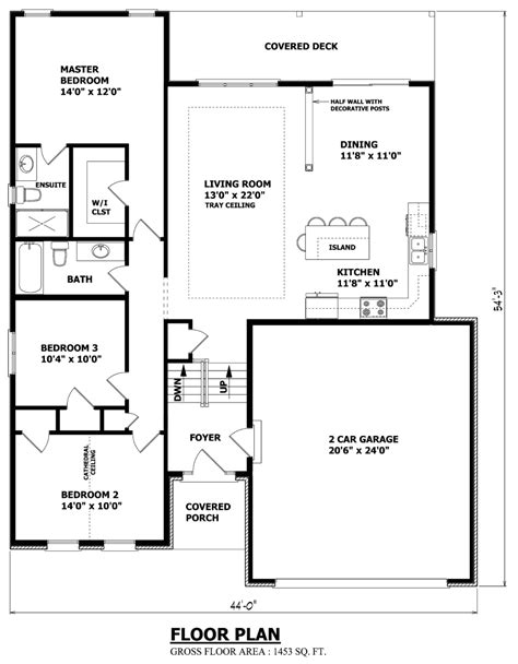 simple bungalow floor plans canadian home designs custom house plans stock house