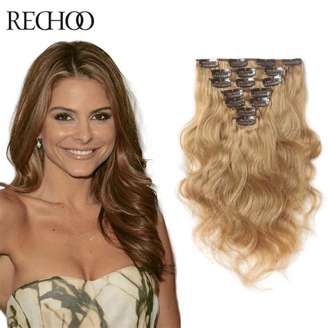 shipping 100 human hair curly remy clip in virgin india human hair aliexpress com buy 7pcs clip in remy 100 real human hair