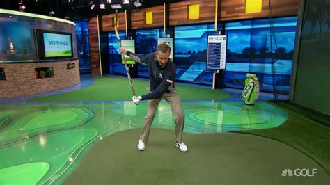 hockey golf swing michael breed s hockey style golf swing tips golf channel