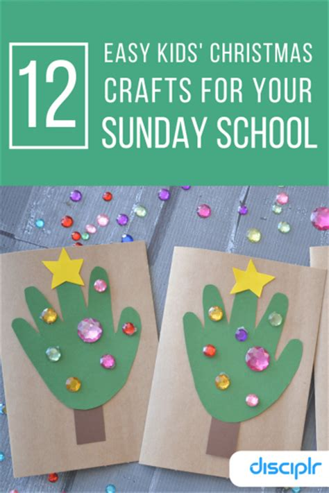christmas sunday school craft 12 easy crafts for sunday school