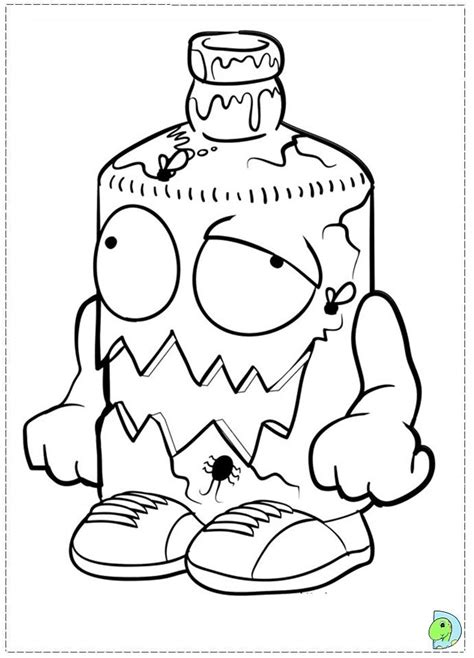 Trash Pack Coloring Pages To Print the trash pack coloring page coloring home