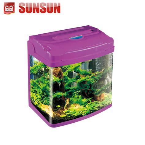 Tangki Mini desktop mini melihat tangki ikan akuarium 29l hrc 380d