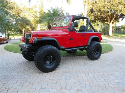 1990 Jeep Laredo For Sale Sell Used 1990 Jeep Wrangler Laredo Sport Utility 2 Door 4