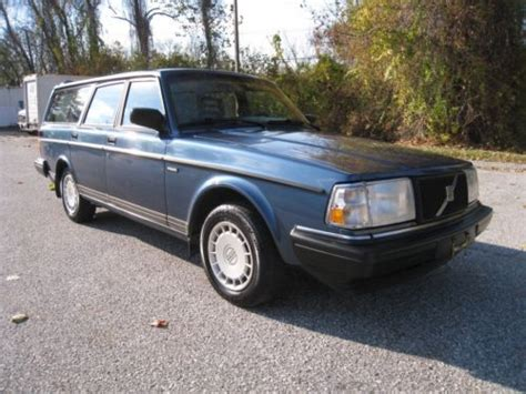 car engine manuals 1992 volvo 240 regenerative braking purchase used amazing 1992 volvo 240 wagon only 101k miles 5 speed manual garage kept lqqk in
