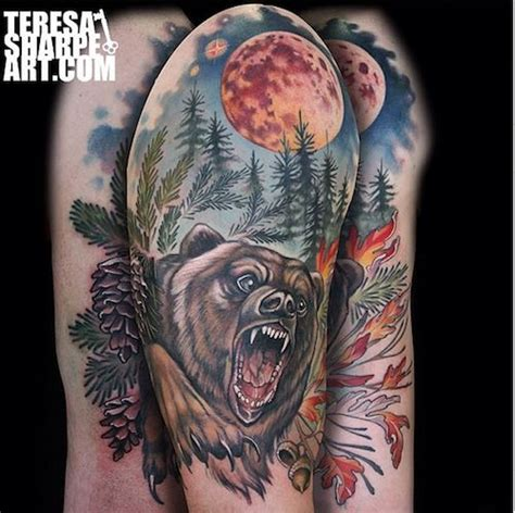 forest scene tattoo 1000 images about artist teresa sharpe on