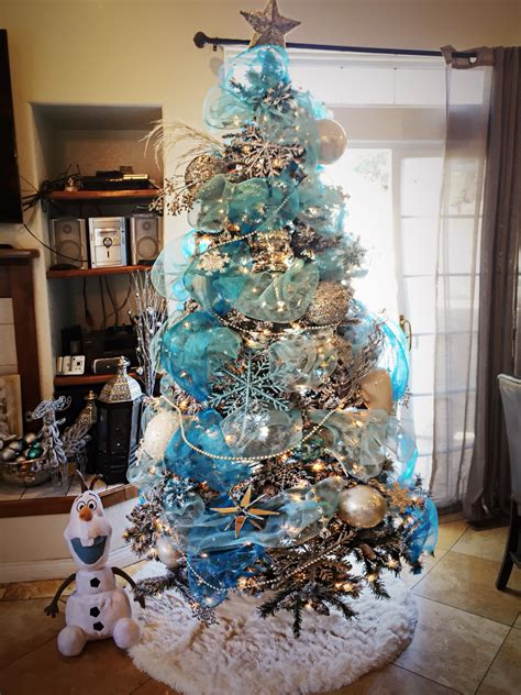 frozen themed christmas tree i created shanny s pins