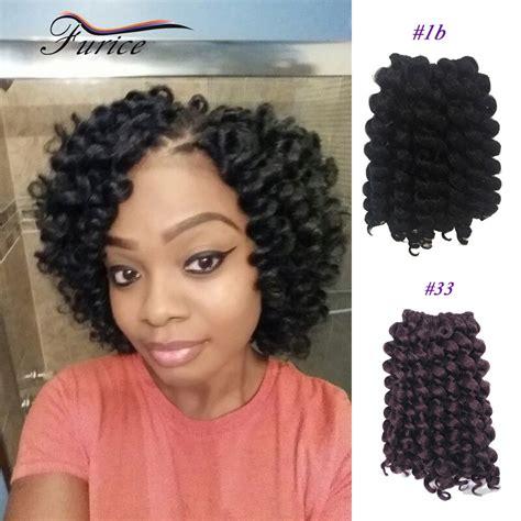 wand curl styles for short hair 8 inch 75g pc jump wand curl braiding crochet hair