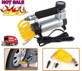 Inflating Car Tires With Air Compressor 12v Air Compressors Auto Tire Inflator Portable