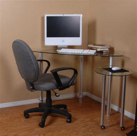 Corner Computer Desk Ideas Clear Glass Personal Computer Desks Tier One Designs Neat Small Corner Desk Pinterest
