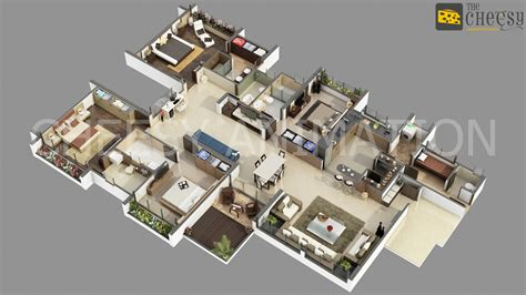 Foremost Homes Floor Plans by 3d Floor Plan Rendering An Effective Way To Have