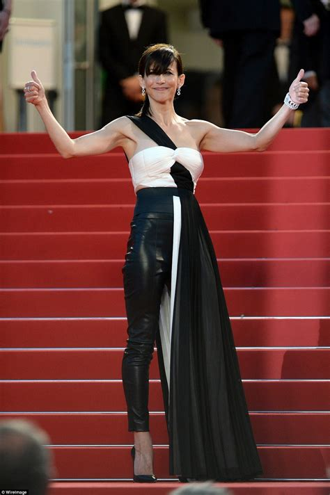 Leather Drapes Cannes Red Carpet S Worst Dressed Stars At The Weekend