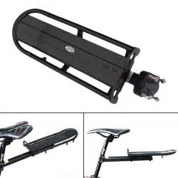 bicycle rear cargo rack bike touring bag panniers carrier