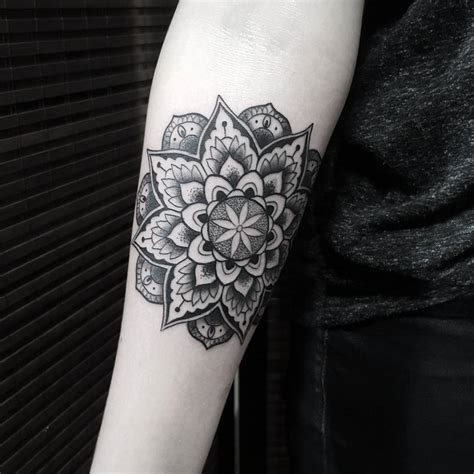 the beauty in the abstraction of blackwork tattoos