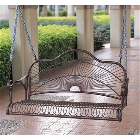aluminum porch swing metal porch swings porch swings
