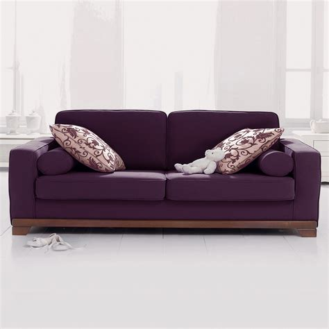 canap 233 3 places convertible neuilly aubergine