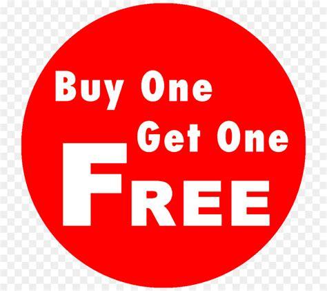 Buy One Get One buy one get one free buy 1 get 1 free sticker brand clip