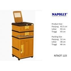 Lemari Container Napolly lemari plastik murah container napolly ntaot 115 agen
