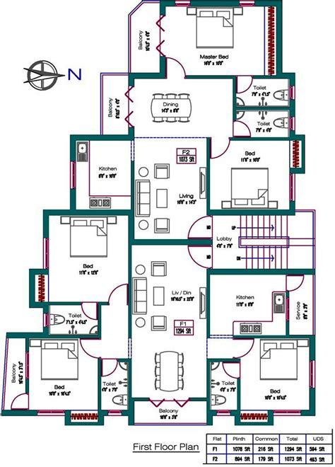 orchard central floor plan 928 sq ft 2 bhk 2t apartment for sale in alankar orchard
